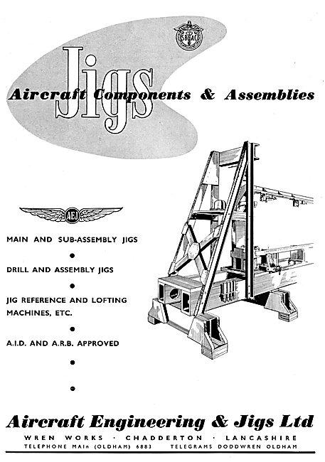 Aircraft Engineering & Jigs : Aircraft Components & Assemblies