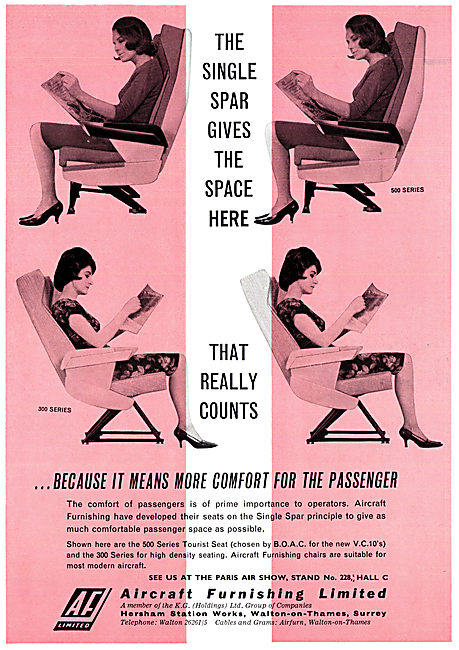 Aircraft Furnishing  - Passenger Seats