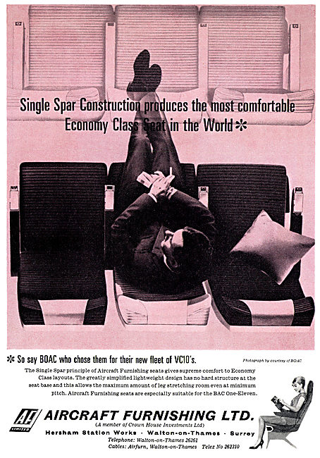 Aircraft Furnishing Ltd - Aircraft Seating & Cabin Interiors