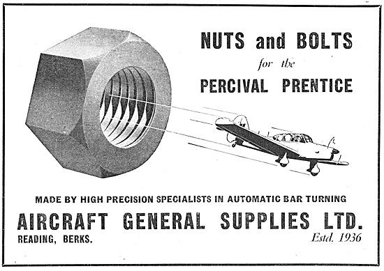 Aircraft General Supplies Reading. AGS Parts