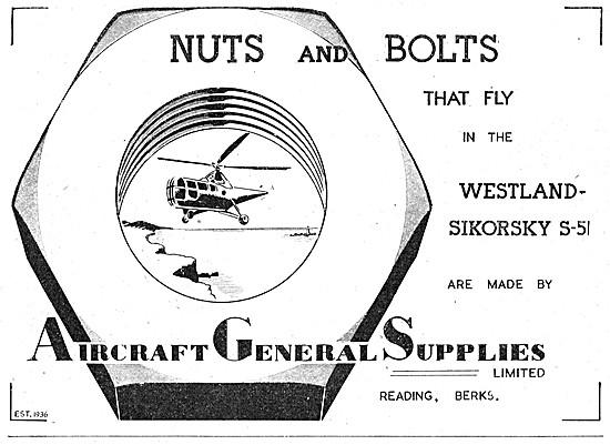 Aircraft General Supplies. Reading