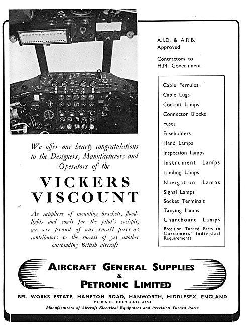 Aircraft General Supplies & Petronic Ltd