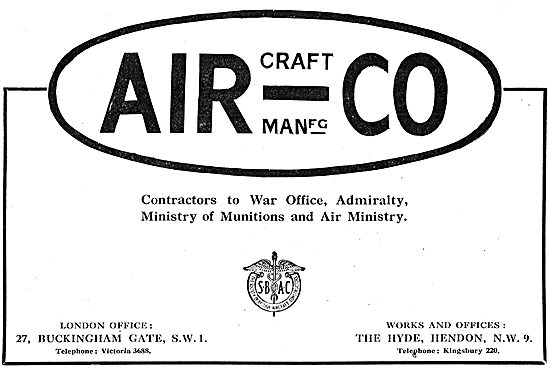 The Aircraft Manufacturing Comapny - AirCo