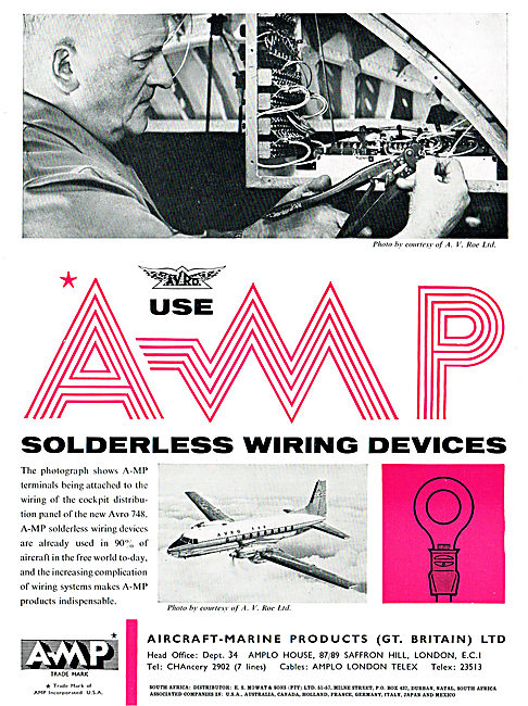 Aircraft-Marine Products: AMP Solderless Wiring Devices