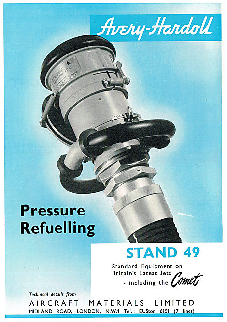 Aircraft Materials - Avery-Hardoll Pressure Refuelling Equipment