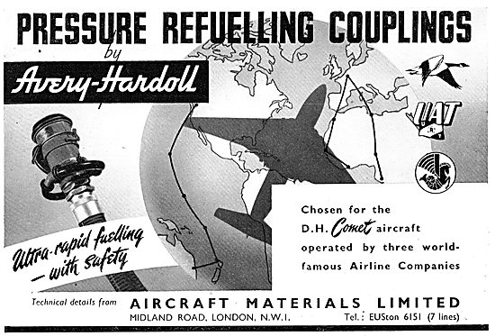 Aircraft Materials - Pressure Refuelling Couplings