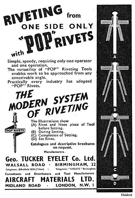 Aircraft Materials - Tucker Pop Rivets