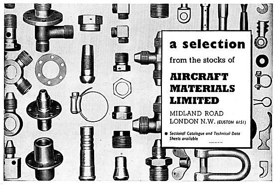 Aircraft Materials Stock AGS & Fitting For Aircraft