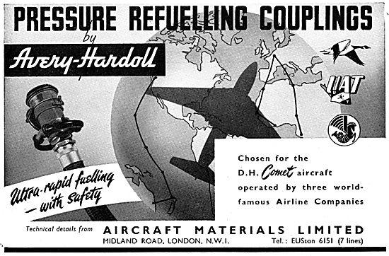 Aircraft Materials - Pressure Refuelling Couplings