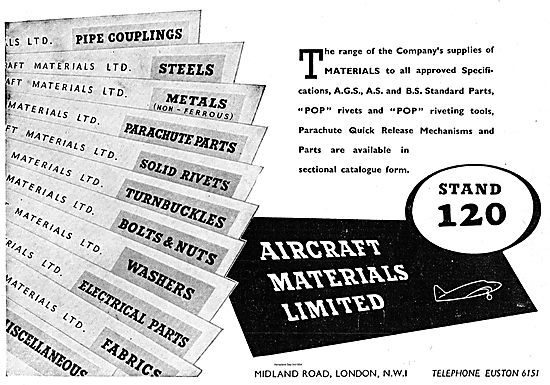 Aircraft Materials AGS, AS & BS Standard Parts For Aircraft