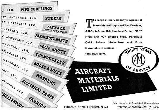 Aircraft Materials AGS Parts