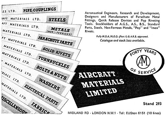 Aircraft Materials - Aeronautical Engineers AGS