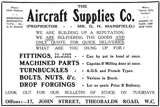 Aircraft Supplies. Aircraft Parts Suppliers & Stockists
