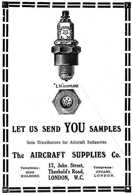 Contact The Aircraft Supplies Company For Sample AGS Parts