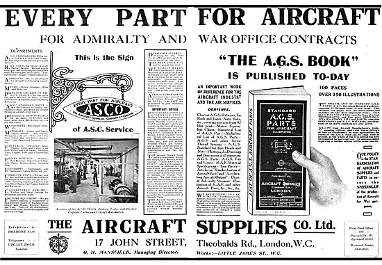 AGS Parts | Aviation Ancestry