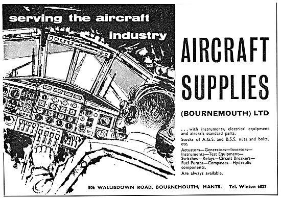 The Aircraft Supplies Company Bournemouth - Parts Stockists