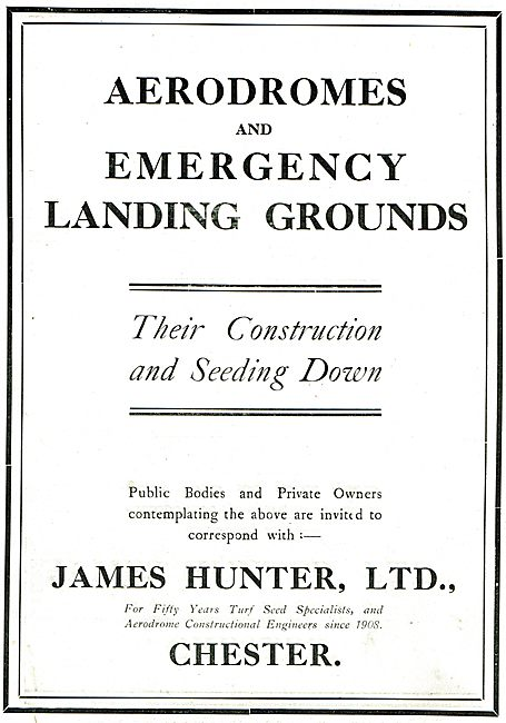 James Hunter Ltd Chester - Aerodrome Turf Seed Specialists
