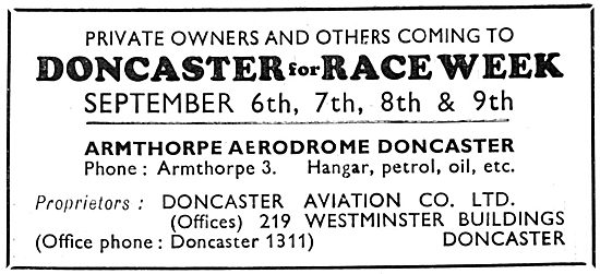 Doncaster Aviation 1932