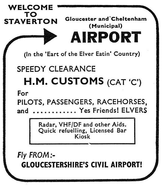 Gloucestershire Cheltenham Staverton Airport