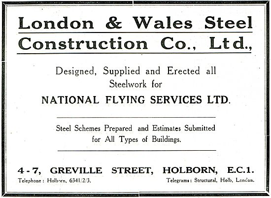 London & Wales Steel Contruction - Suppliers To NFS Ltd