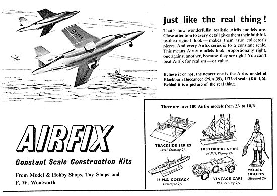 Airfix 1/72nd Scale Blackburn Buccaneer - NA39