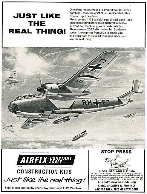 Airfix Dornier 217E-2