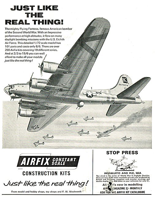 Airfix Flying Fortress
