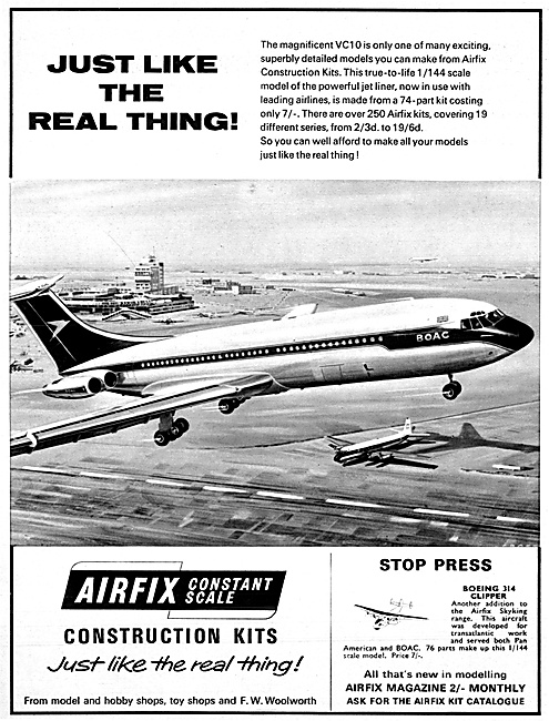Airfix Vickers VC10