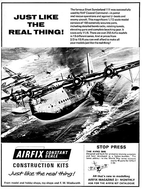 Airfix Short Sunderland