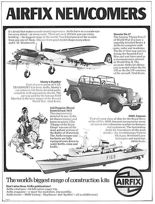 Airfix DO 17 & Monty's Humber