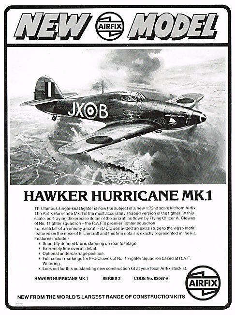 Airfix 1/72nd Scale  Hawker Hurricane Mk.1
