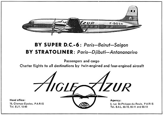 Aigle Azur Airlines 1954