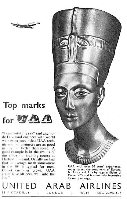 UAA. United Arab Airlines