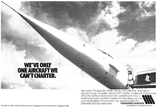 Tradewinds Charters Airline 1980