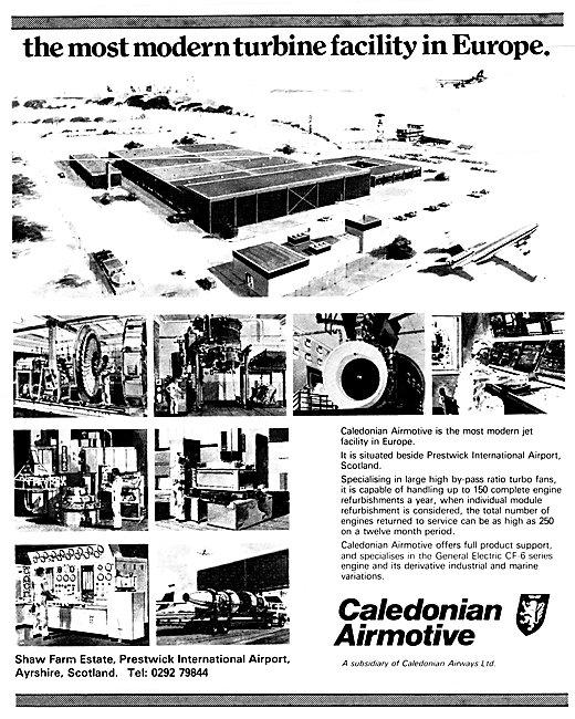 Caledonian Airmotive Engineering Prestwick