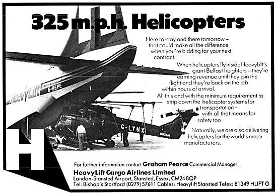 HeavyLift Cargo Airlines - Belfast G-BEPE