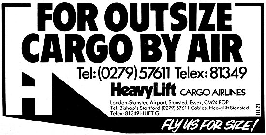 HeavyLift Cargo Airlines