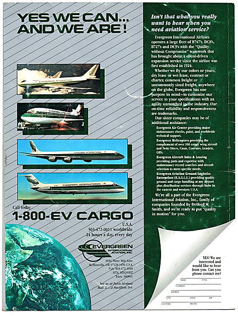 Evergreen International Cargo Airline
