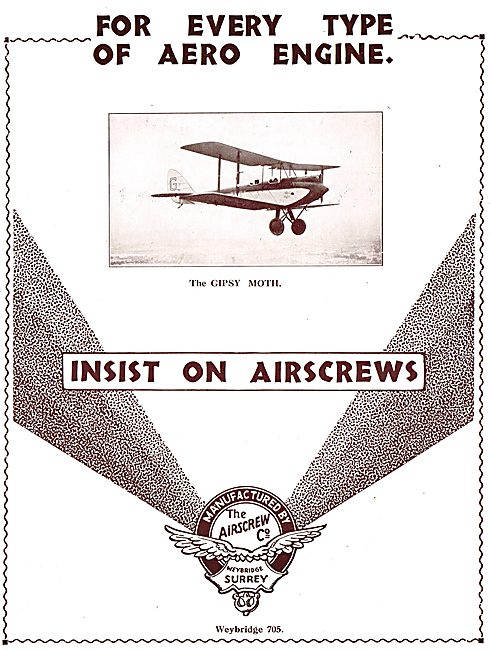 Insist On Airscrew Propellers.