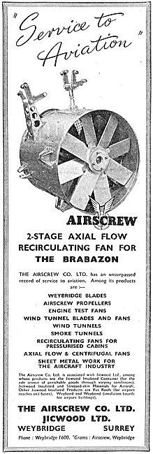 Airscrew Jicwood 2 Stage Axial Flow Recirculating Fan