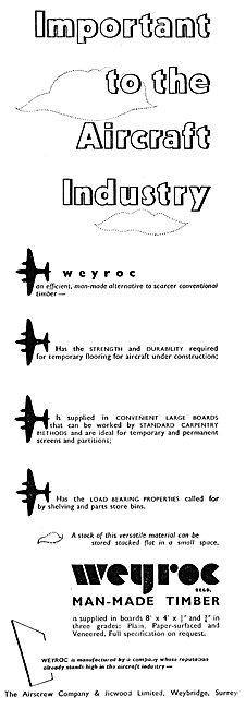 Airscrew Co: Weyroc Man-Made Timber