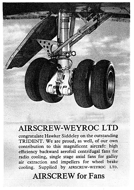 Airscrew-Weyroc Centrigual Fans & Impellers