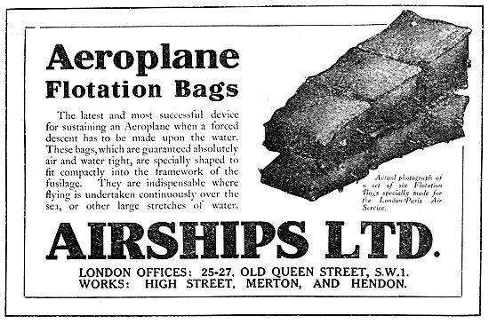 Airships Ltd - Flotation Bags