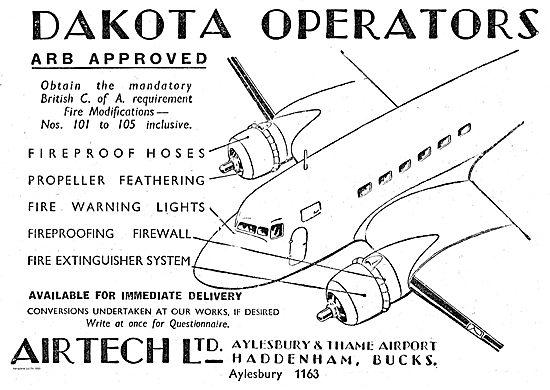 Airtech ARB Approved Dakota Fire Modifications