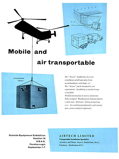 Airtech Aircon Specialised Containers - Freight Containers