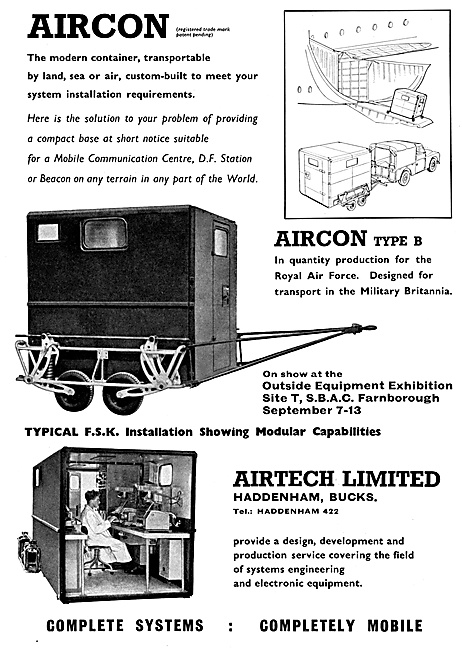 Airtech Aircon Type B Mobile Communications Installations