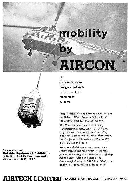 Airtech AIRCON Mobile Communications & Monitoring Centres