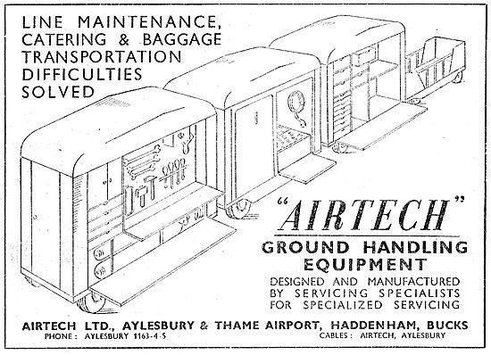 Airtech Ltd. Aeronautical Engineers. Servicing & Repairs