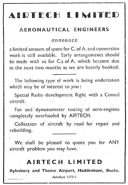 Air Tech Ltd Special Radio Development Work