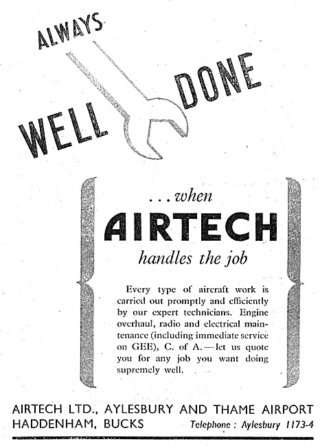 Airtech Aircraft Engineering & Service- Aylesbury & Thame Airport